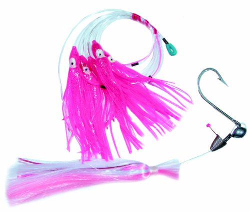 Blue Water Candy Super Star Rig with Size 8/0 Ballyhoo Rig