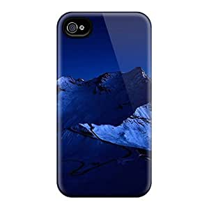 Mialisabblake BSlheld2195zSXnR Case Cover Skin For Iphone 4/4s (dark Blue Mountains)