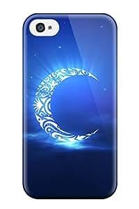 New Arrival CXzzEVR6336wgmPR Premium Iphone 4/4s Case(holy Ramadan Moon)