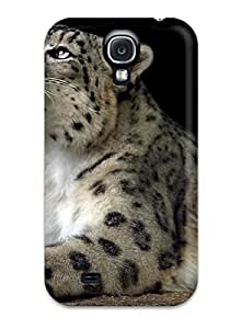 High Grade Flexible Tpu Case For Galaxy S4 - Snow Leopard Pictures