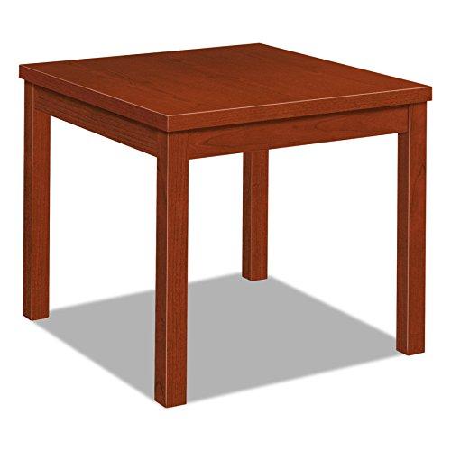 (HON 80192CO Laminate Occasional Table, Square, 24w x 24d x 20h, Cognac)