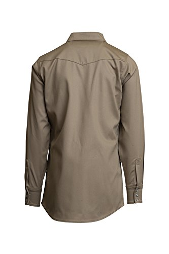 Lapco FR INKWS-17 L Flame Resistant Welder's Shirts