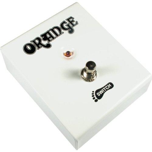Footswitch Box - Orange, Single Switch