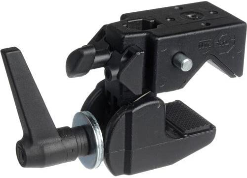 Black Manfrotto 035 Super Clamp without Stud Replaces 2915