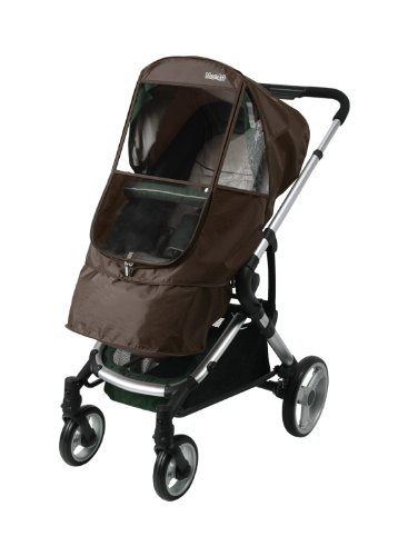 Manito Elegance Beta Stroller Weather Shield / Rain Cover - Chocolate