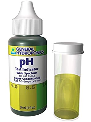 1 Set Supreme Popular General Hydroponics pH Test Kit Accurate Results Sensitive Tool Up and Down Control Volume 30ml