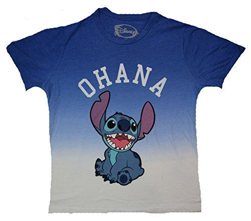 Disney Stitch Ohana Juniors T shirt