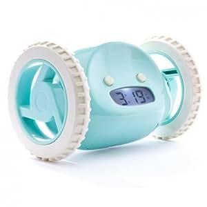 Nanda CLKYa Clocky - Despertador huidizo, color azul