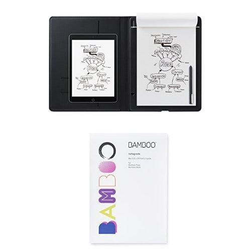 Economy Folio (Wacom Bamboo Folio Smartpad, Large & A4 Notepad Paper)