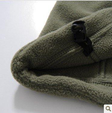 Noga Herren Outdoor Jagd Camping-Hoodies Warm Mäntel Jacke Hoody (XL, schwarz)