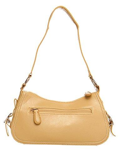 Hobo Yellow Structured Handbags Handbag For Shoulder All Bucket by aqH6xR