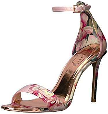68311c4fe Amazon.com  Ted Baker Women s CHARV Heeled Sandal  Shoes