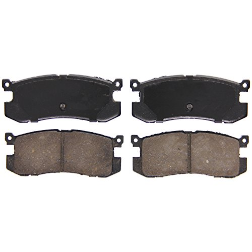 Ford Probe Disc Brake - Wagner QuickStop ZD400 Ceramic Disc Pad Set, Rear