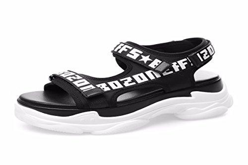 Sport Scarpe Estate Basso Muffin scarpe Dolce HBDLH Studente Sorella Di Da Spessa black da bell'aspetto Di donna Donna OqX6Bw