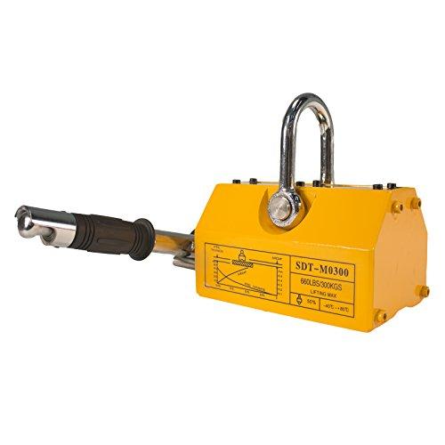 Steel Dragon Tools 660LBS 300 KG Neodymium Lifting Magnet Magnetic Shop Crane Metal Lifting Hoist