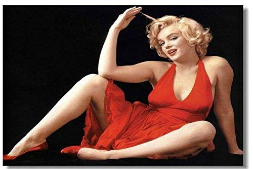 Marilyn Monroe Movie Silk Wall Poster 36x24 inch Big Huge Room US Sex Girl Photograph Prints Jeane Bake (068)
