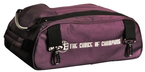 Vise Shoe Bag Add-On for Two Ball Roller, Purple by Vise
