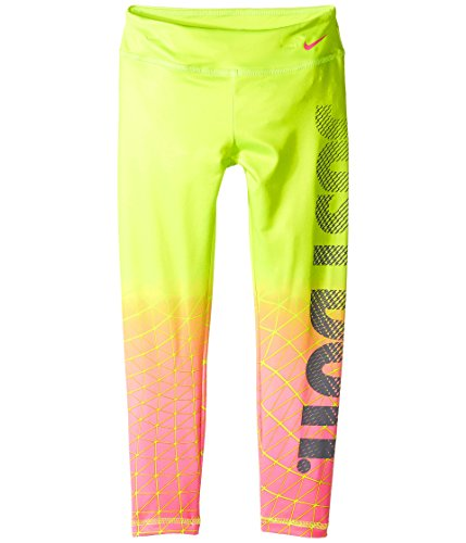 Skip Hop Hug (Nike Kids Dri-FIT Sport Essential Legging Little Kids Volt Girl's Casual Pants)