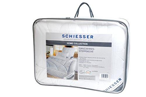 Schiesser ganzjahres Steppbett / Bettdecke / 155 x 220 cm / Allergiker geeignet / verschiedene Größen