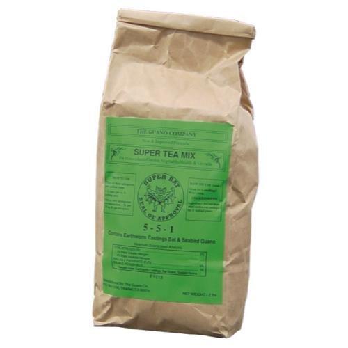 Guano Company 720040 Super Tea Dry Mix, 2 lb
