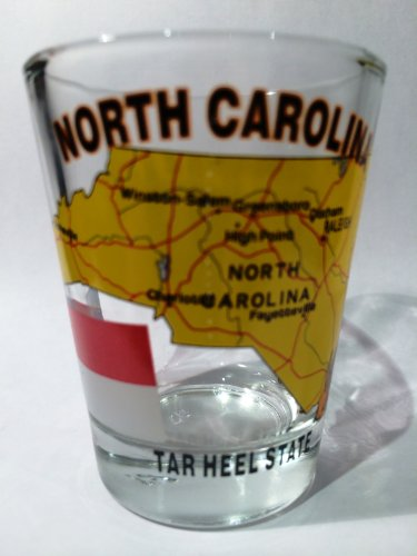 North Carolina The Tar Heel State All-American Collection Shot Glass
