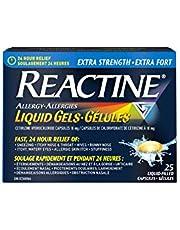 Reactine Extra Strength 10mg Liqui-Gel, 25 Count