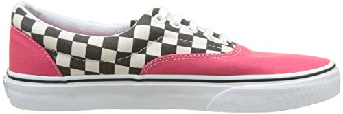 Vans Herren UA Era Sneakers Rot (2-tone Check Rouge Red/true White)