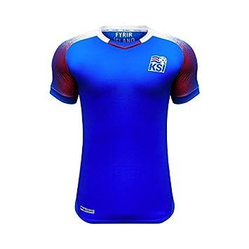 mqtwer Camiseta 2018, Uniforme Nacional De Fútbol De Islandia, Camisa De Los Hombres,