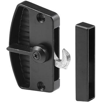 Prime-Line Products A 202 Sliding Screen Door Latch Black Black