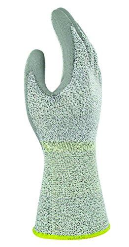 Ansell PU800 L30 Polyethylen Handschuh, Chemikalien- und Flüssigkeitsschutz, Grau, Größe 10 (12 Paar pro Beutel)