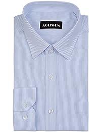 Men's Slim Fit Stripe Classic Collar Dress Shirts