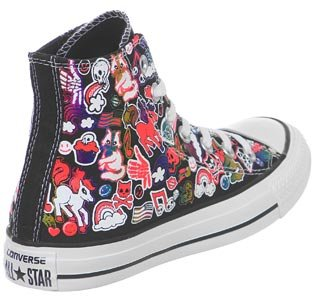Converse Chuck Taylor All Star high Women negro 542493C talla: 36, color, talla 36.5