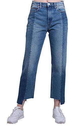 29 Taglia A Tommy Lunghezza Vita Alta Jeans Donna Doppia BUq08