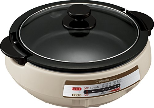 Zojirushi EP-PBC10 Gourmet d'Expert Electric Skillet (Chinese Sticky Rice Recipe Using Rice Cooker)