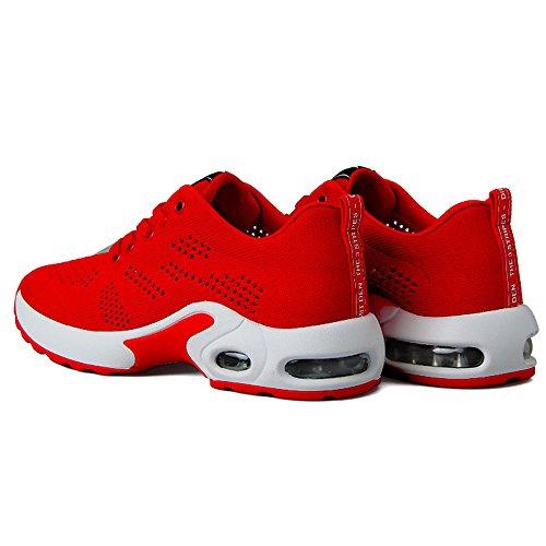 Au Pour Simples Couleurs Femmes Rouge Eu36 Nan Chaussures De Mode Couleur cn36 Deux Choix D'été Taille Sport uk4 Noir Rwcq4px