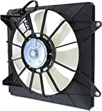2012 Acura TSX A/C Condenser Fan Assemblies - A/C Condenser Cooling Fan for 2008-2012 Honda Accord 2009-2013 Acura TSX Right