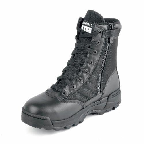 schwarz Original Einsatzstiefel 1152 Zip SWAT Side wvqxgqYAX