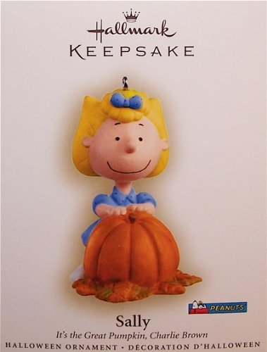 Hallmark 2006 Sally It's the Great Pumpkin Charlie Brown Peanuts Halloween