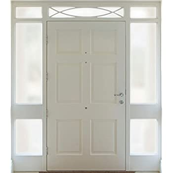 Gila Privacy Décor Frosted Glass Sidelights Entryway Residential Window  Film DIY Static Cling No Glue No
