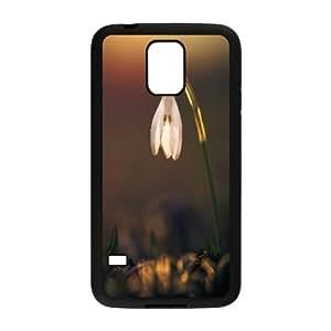 Samsung Galaxy S5 Cases Snowdrop 4, Snowdrop [Black]
