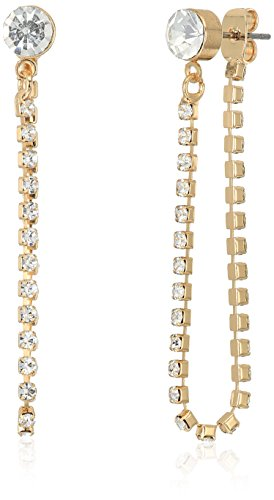 GUESS 6 On Set W Stones Earrings, Gold, One (Guess Set Earrings)