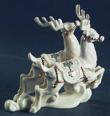 Lenox Dash Away All Dasher and (Lenox Antiquity Accent)