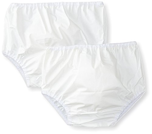 Gerber Baby 2-Pack Waterproof Pant, white, 6-9 Months - Nylon Diaper Pants