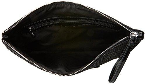 Tous Jodie Medallion de Nylon, Cartera de Mano para Mujer, Negro (Black), 1.5x21x25 cm (W x H x L): Amazon.es: Zapatos y complementos