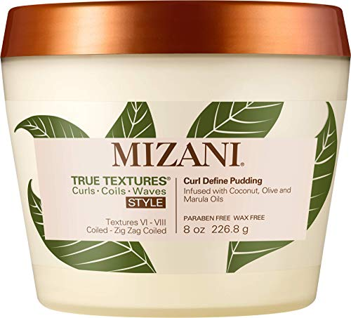 MIZANI True Textures Curl Define Pudding, 8.0 (Curl Enhancing Lotion)