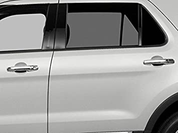 CHROME PILLAR POST COVERS FOR FORD EDGE  INCLUDES 8 PCS 2011-2014