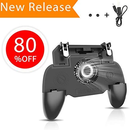 Amazon com: GAMESUN PUBG Mobile Game Controller Upgraded