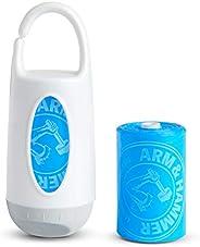 Munchkin Arm & Hammer Dispensador de bolsas de pañales con bolsas, aroma de lavanda, los colores pueden va