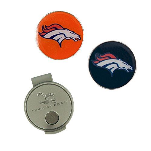 - Team Effort NFL Denver Broncos Hat Clip & 2 Ball Markers