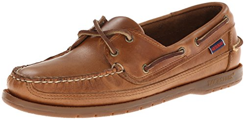 Schooner Men's Loafers Sebago Boat Shoes Leather Cognac T57R1xR